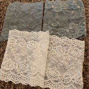 Accessories - 2 pairs of lace boot covers
